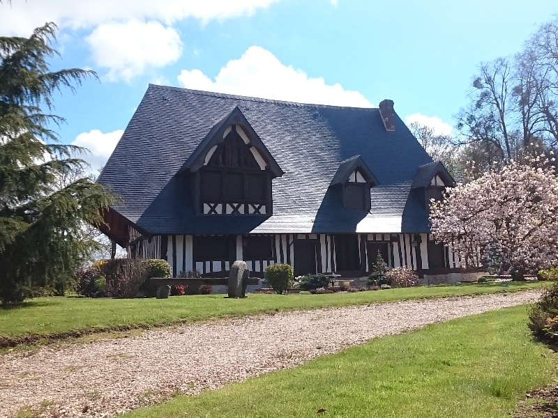 Maison normande rénovée