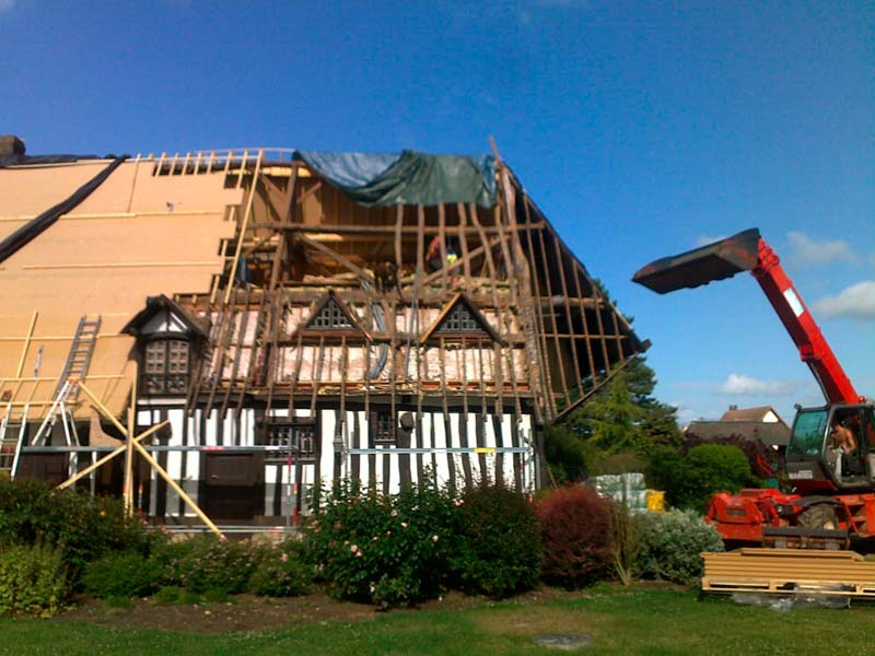 Rénovation de la toiture en isolation par l'extérieur en bois
